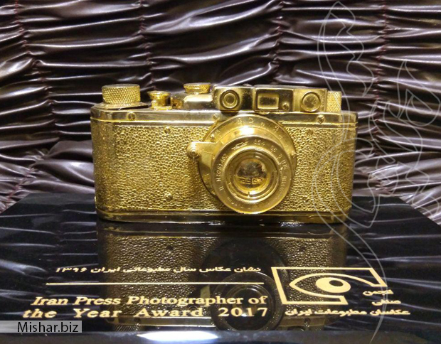 تندیس برنجی دوربین عکاسی